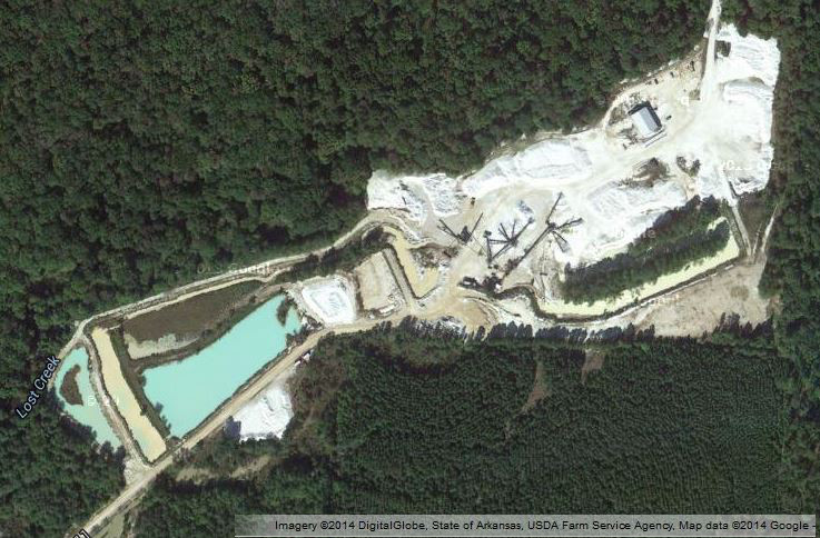 SWR Quarry, Aerial View